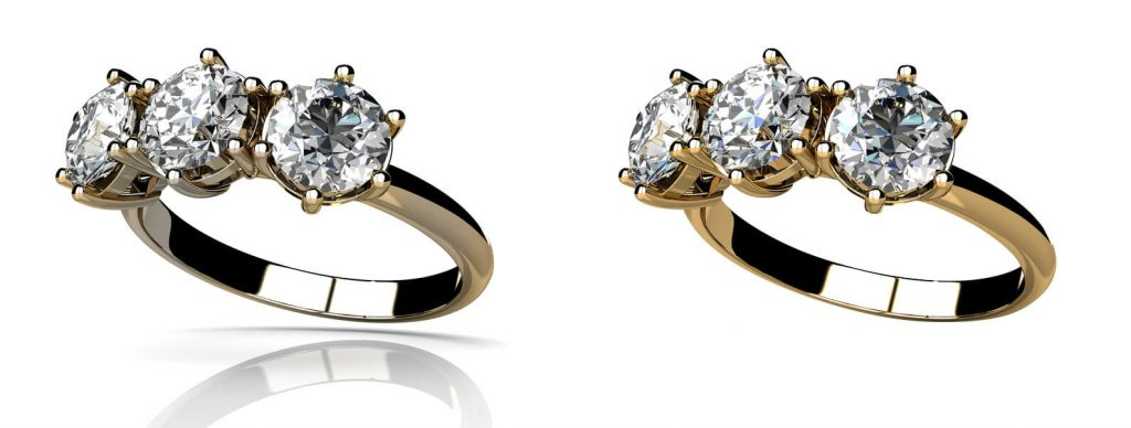 jewelry retouch for ecommerce product