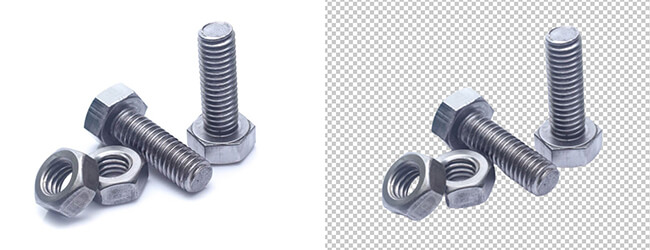 nuts bolts multi clipping path