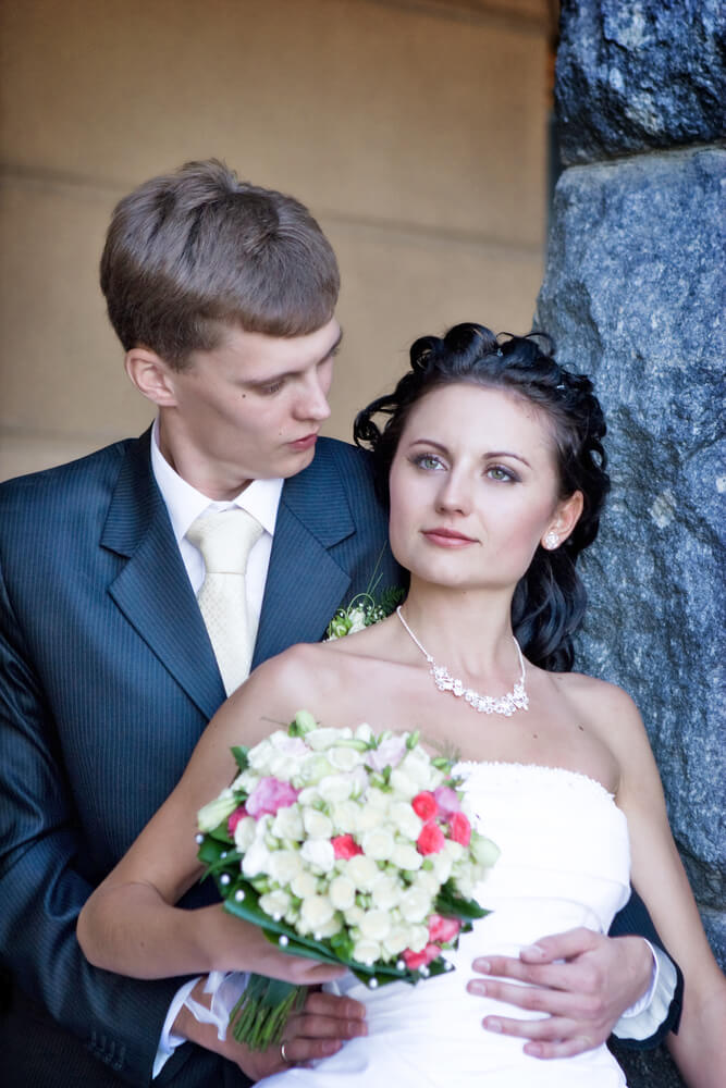 wedding photo color correction after